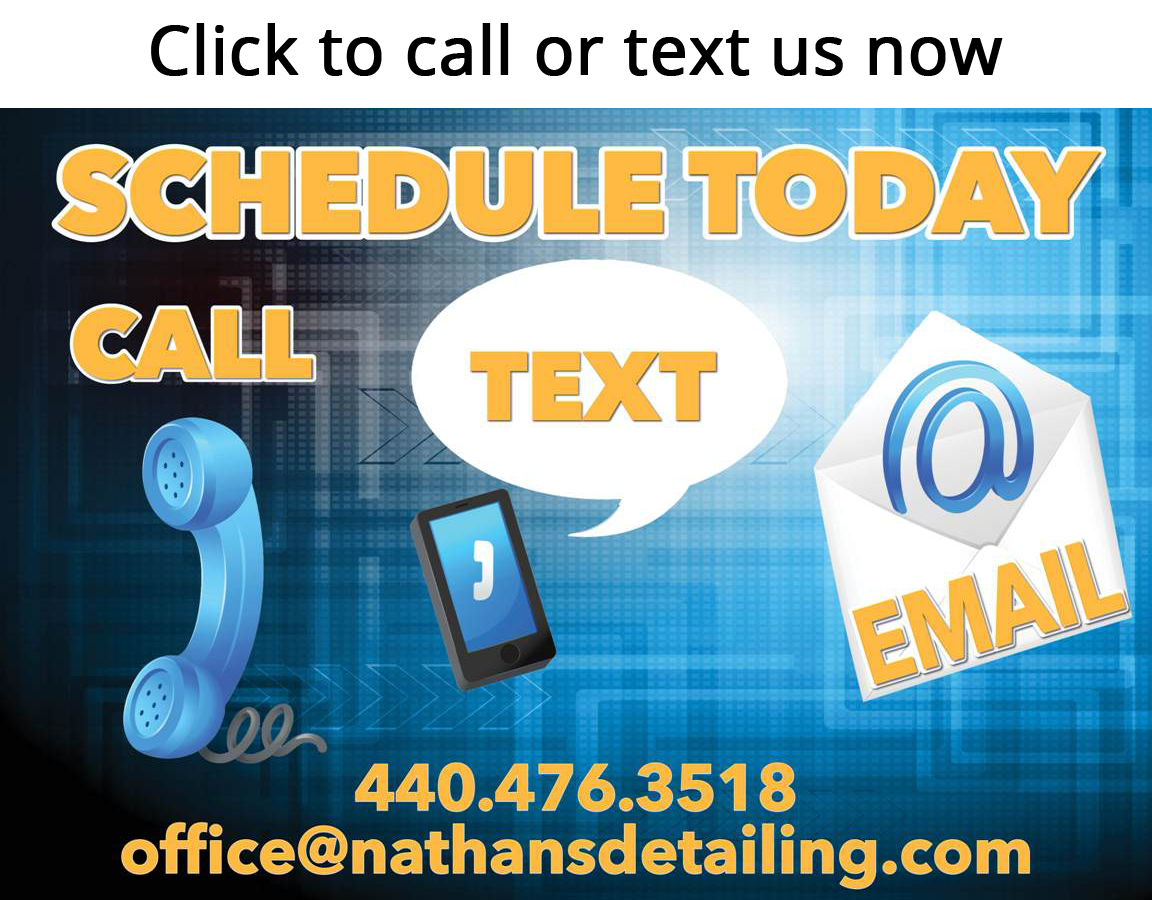 Schedule Your Detailing Today